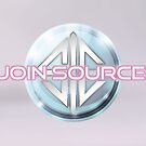 JOIN SOURCE! in blue by sourceindie
