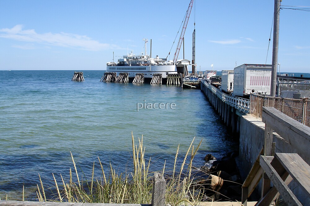 Martha's Vineyard Loading Dock by piacere