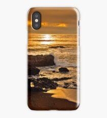 Sunset near Cambria, California iPhone Case/Skin