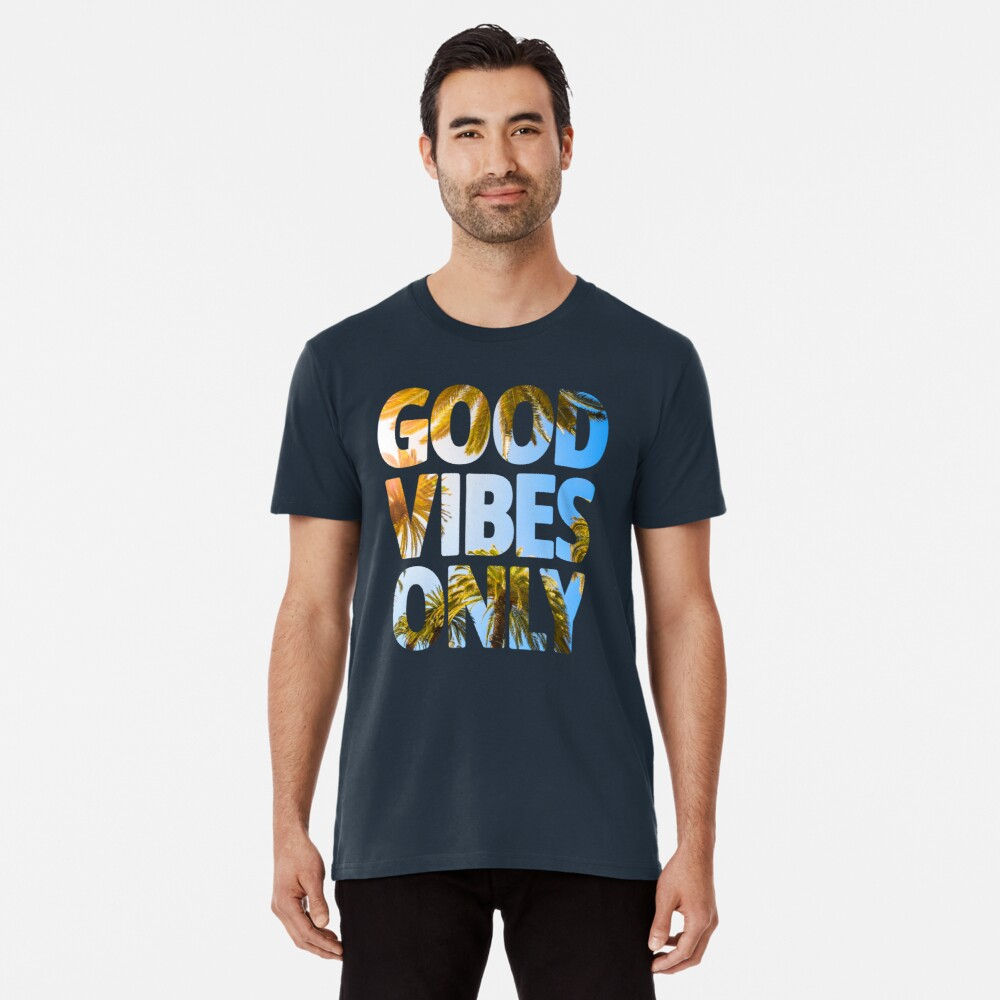 NUR GUTE SCHWINGUNGEN Premium T-Shirt