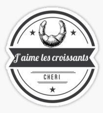 Croissants Sticker