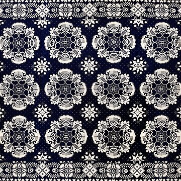 Floral Fabric Vintage Gift Pattern #3 by NeonAbstracts