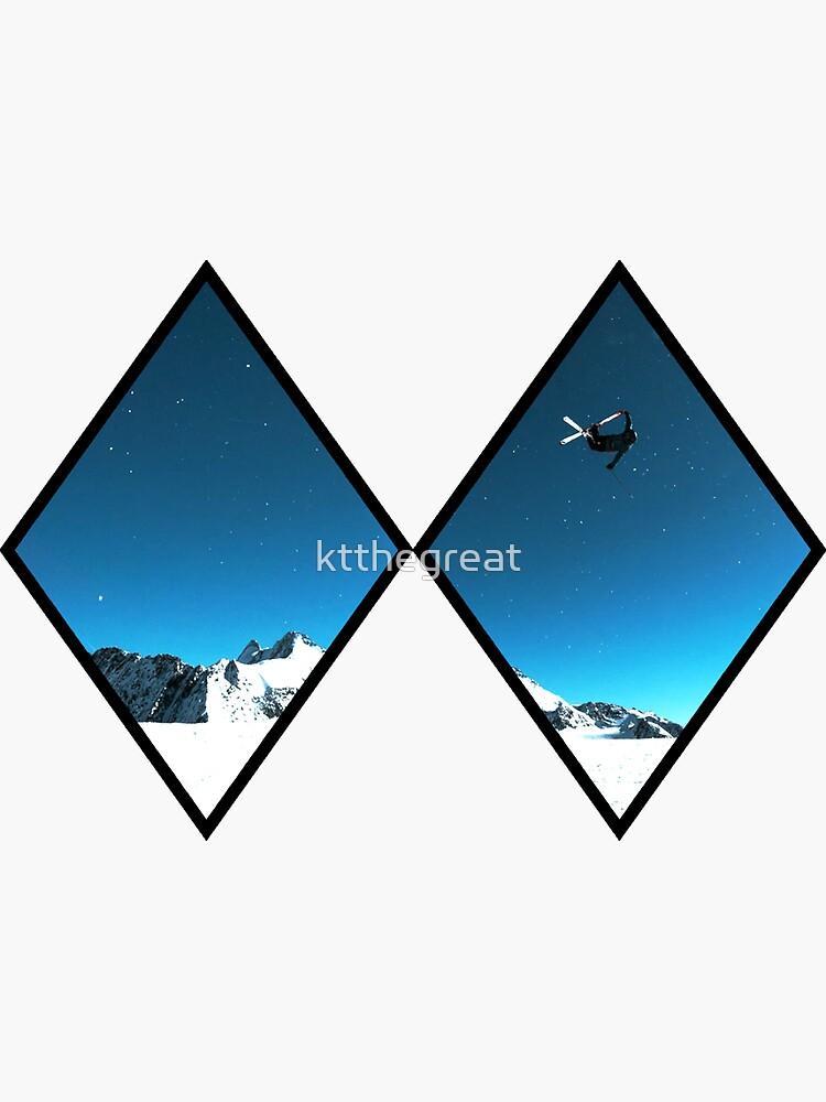 Double Black Diamond - Skiing by ktthegreat