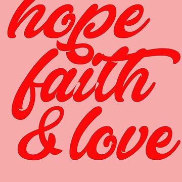 Hope, Faith & Love by rizkidiyan