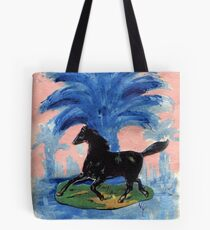 The Wild Horse - Silas Tote Bag