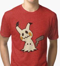 Blushing Mimikyu Tri-blend T-Shirt
