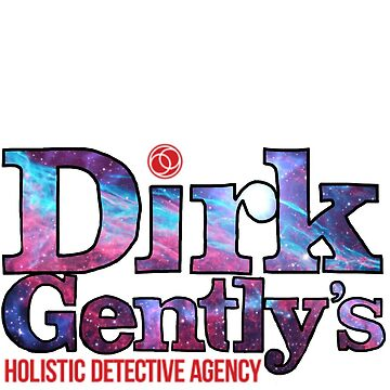 Dirk Gently space sticker! by thekaym