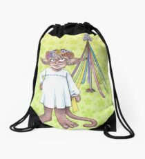 The May Queen of 2015 Drawstring Bag