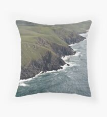 Wild Coast, Transkei, RSA Throw Pillow