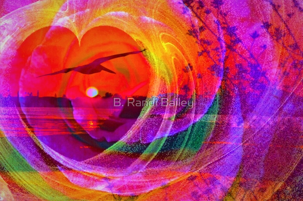 Love gives you wings by ♥⊱ B. Randi Bailey