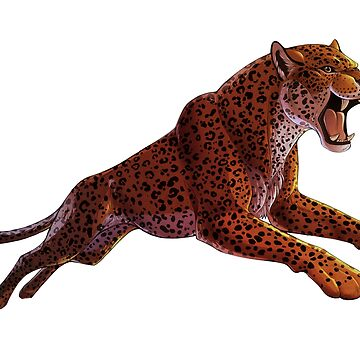Leaping Leopard de Illustratorz