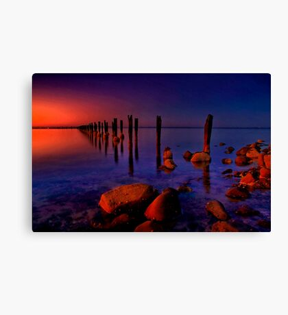 """Nightfall At The Dell"" Canvas Print"