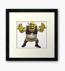 Shrek Roar! Framed Print