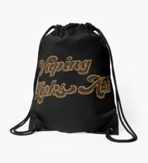 Ω VAPE | Vaping Kicks Ash  Drawstring Bag