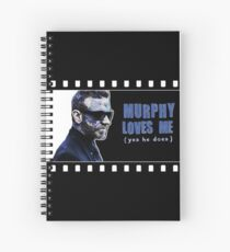 Murphy Loves Me (Yes He Does) [iPad / Phone cases / Prints / Clothing / Decor] Spiral Notebook
