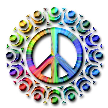 t-shirts with LGBT peace logo by oscarmega