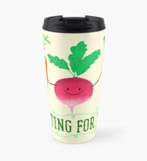 Rooting for you - Punny Garden Travel Mug