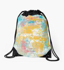 Winter Sunrise Drawstring Bag