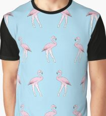 Sexy flock of flamingos Graphic T-Shirt