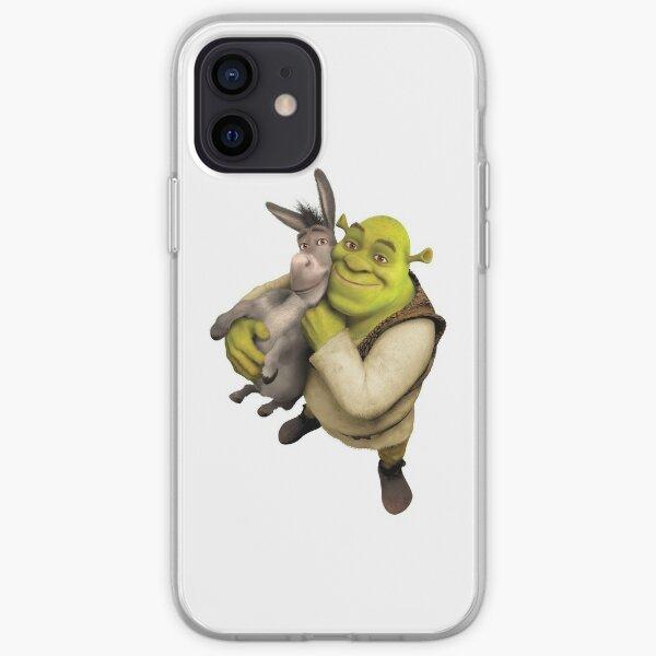 Shrek and Donkey iPhone Soft Case