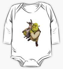 Shrek and Donkey One Piece - Long Sleeve