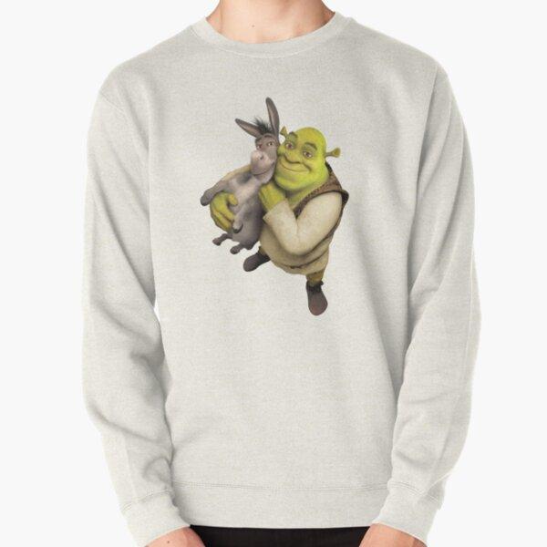 Shrek and Donkey Pullover Sweatshirt