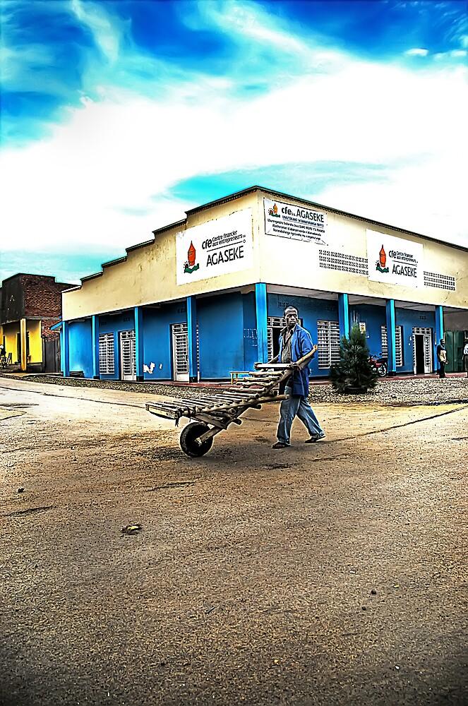 It's a living Rhuengeri Rwanda by Melinda Kerr