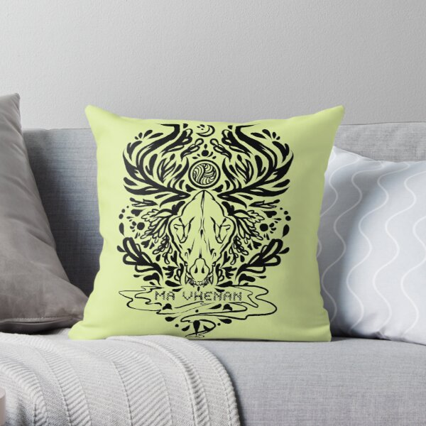 solas romance tattoo  Throw Pillow