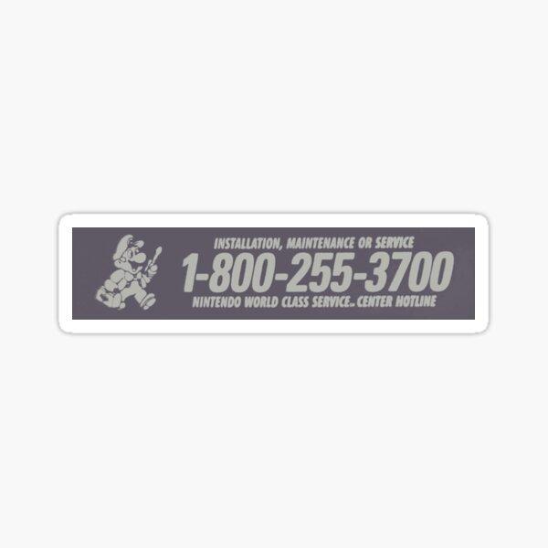 Nintendo World Class Service Sticker