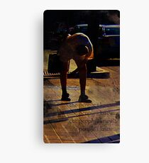 this worlds weight... (cacoons) Canvas Print