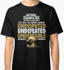 UCF 2017 National Champions - Undefeated Shirt Classic T-Shirt