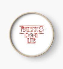 Friends Don't Lie: Stranger things sticker Clock