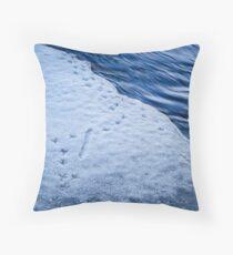 FOOTPRINTS [Throw pillows] Throw Pillow