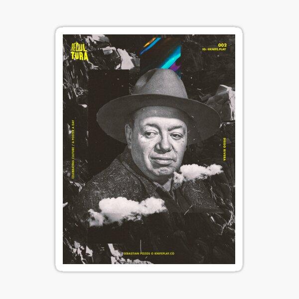 Diego Rivera - Recultura 002 Sticker