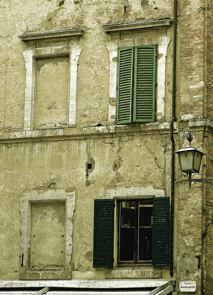 Window in Tuscan Village by avocet