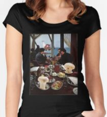 Farm to Table Women's Fitted Scoop T-Shirt