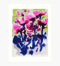 Botanika - Abstract Floral Watercolour Art Print