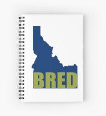 Idaho Bred Spiral Notebook
