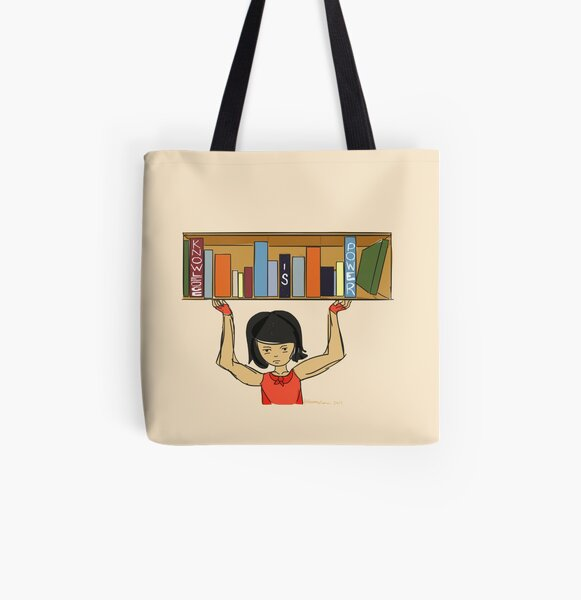 Knowledge Is Power All Over Print Tote Bag