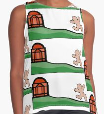 UVA Virginia - Streak the Lawn Contrast Tank