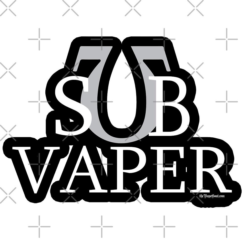 Ω VAPE   SUB Vaper  by IconicTee