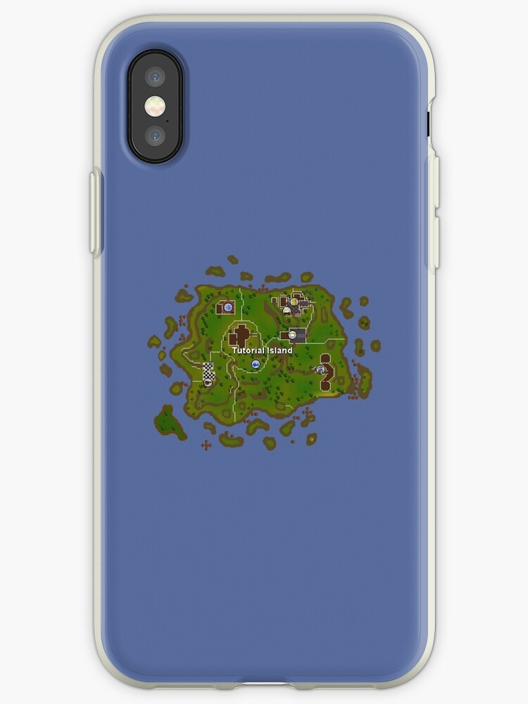 Old School Runescape Tutorial Island Iphone Case By Scammell Design