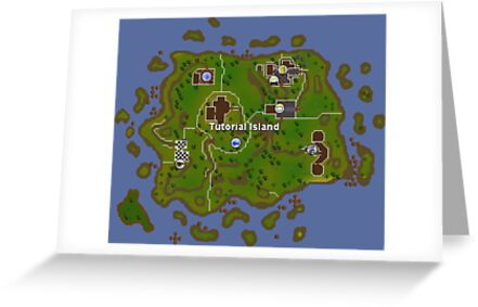 Old School RuneScape Tutorial Island by Scammell Design