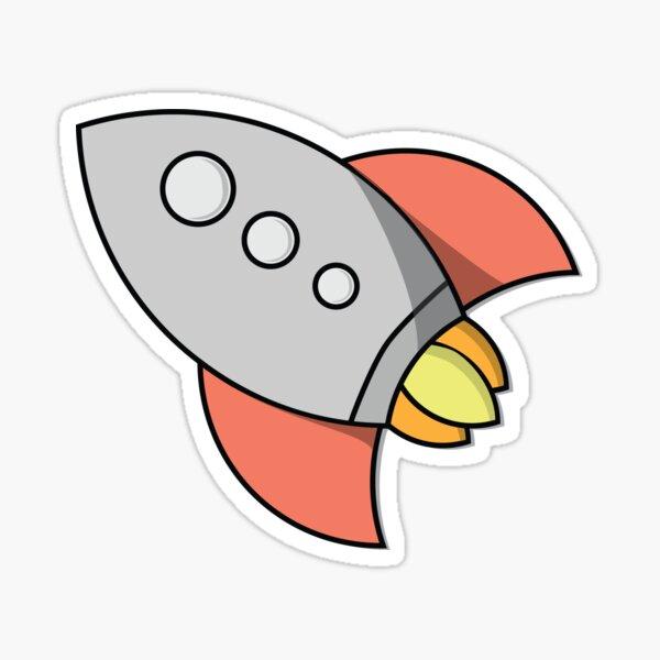 Little Spaceship Sticker