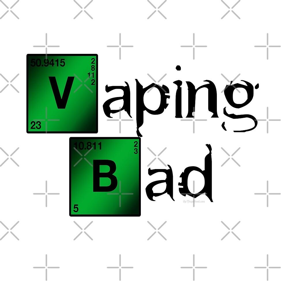 Ω VAPE   Vaping Bad by IconicTee