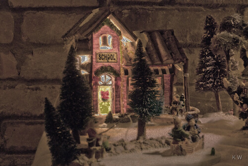 Christmas Village. by K W