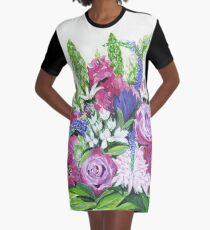 Natalies Blumenstrauß T-Shirt Kleid