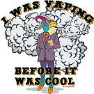 Ω VAPE Shirt | Vaping before it was Cool  by IconicTee