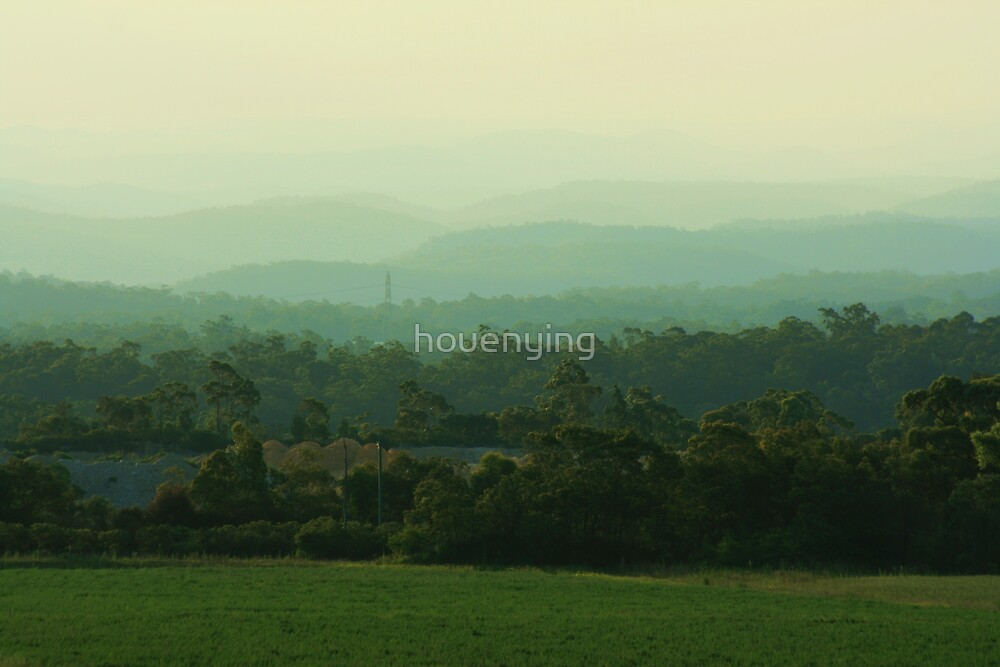 The layers by houenying