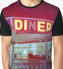 Old Diner Graphic T-Shirt